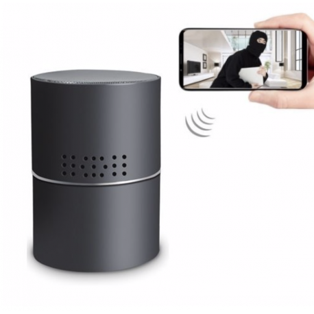 SMART Wi-Fi Spion Kamera - Indbygget i Bluetooth Højtaler
