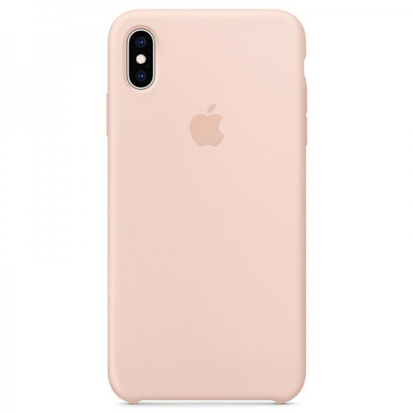 Original iPhone XS Max Silikone Cover MTFD2ZM/A Sandrosa