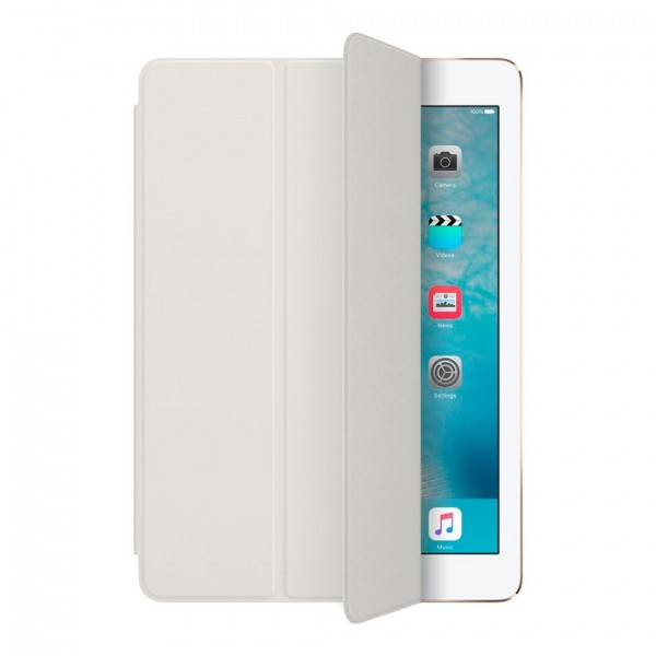 Apple iPad Air 2 Tri-fold Læder Smart Cover Hvid