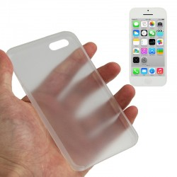 0.3 mm Ultra Tynd Plast Cover til iPhone 5C - Transparent