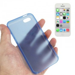 0.3 mm Ultra Tynd Plast Cover til iPhone 5C - Blå
