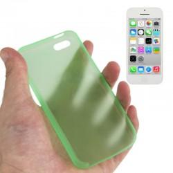 0.3 mm Ultra Tynd Plast Cover til iPhone 5C - Grøn