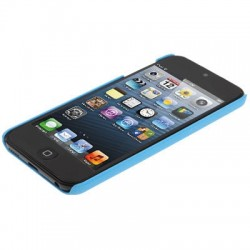 SGP Scrub Series Plastic Protective Case for iPod touch 5 (Baby Blue)