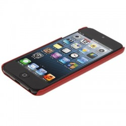 SGP Scrub Series Plastic Protective Case for iPod touch 5 (Red)