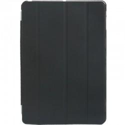 4-folding Slim Smart Cover Companion etui med Sleep & Wake-up Funktion til iPad Air (Sort)