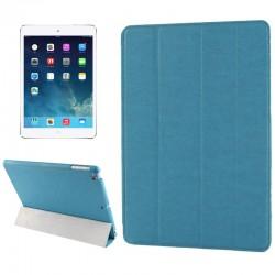 Belk Series 4-folding Slim Smart Cover med Sleep & Wake-up Funktion til iPad Air (Blå)