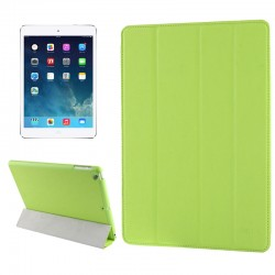Belk Series 4-folding Slim Smart Cover med Sleep & Wake-up Funktion til iPad Air (Grøn)