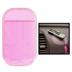 Car Magic Anti Slip Mat til iPhone (Pink)