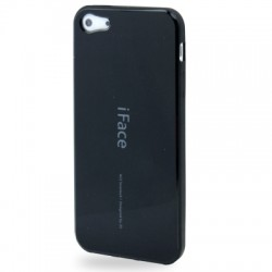 iFace TPU Cover til iPhone 5 & 5S - Sort