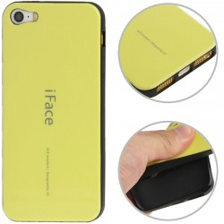 iFace TPU Cover til iPhone 5 & 5S - Gul
