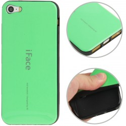 iFace TPU Cover til iPhone 5 & 5S - Grøn