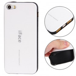 iFace TPU Cover til iPhone 5 & 5S - Hvid