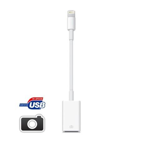 Lightning - USB Camera Adapter til iPad Mini / Mini 2 (Retina)  iPad 4