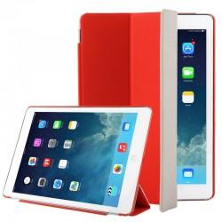"""Smart Cover / Etui med """"Sleep & Wake-up"""" funktion til iPad Air (Rød)"""