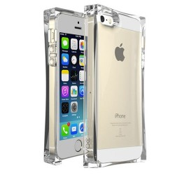 Zenus Avoc Ice Cube Protective Crystal Plastic Case for iPhone 5 & 5S