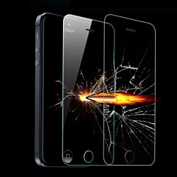 iPhone SE/5S/5C/5 LINK DREAM Beskyttelsesglas 2.5D m Smart iPhone Bordholder