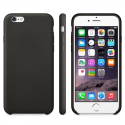 Anti-slip TPU Cover til iPhone 6 (Sort)