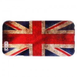Retro UK Flag Mønstre TPU Case til iPhone 6