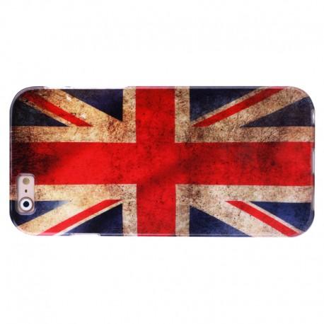 Retro UK Flag Mønstre TPU Case til iPhone 6