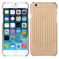Baseus Shell Pattern Plastik Cover til iPhone 6 (Guld)