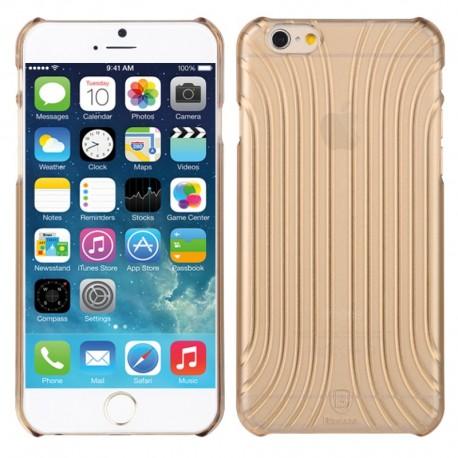 Baseus Shell Pattern Plastik Cover til iPhone 6 (Guld)