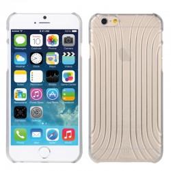 Baseus Shell Mønster Plastik Cover til iPhone 6 (Gennemsigtig)