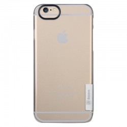 Baseus Ultra-tynd Gennemsigtig Plastik Cover til iPhone 6 (Sølv)