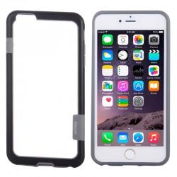 Bumper (To-Farver) til iPhone 6 (Sort)