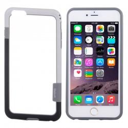 Bumper (To-Farver) til iPhone 6 (Hvid)