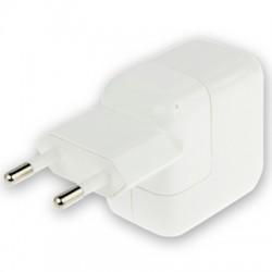 USB Charger Adapter til iPad mini 1 / 2 / 3 / iPad 4 (Hvid)