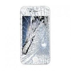 Udskiftning af iPhone 4 LCD Display inkl. Touch Skærm (Hvid)