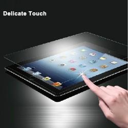 iPad Mini 1/Mini 2/Mini 3 Beskyttelsesglas 0,3mm med 4 x Hjemknap Stickers