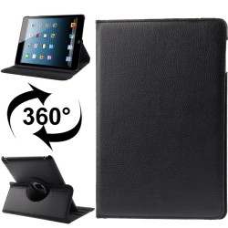 iPad 2 / 3 (New iPad) / 4 Med 360 Graders Roterende Case (Sort)