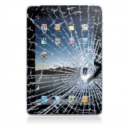 Udskiftning af iPad 4 Glas incl Touch Skærm - Sort