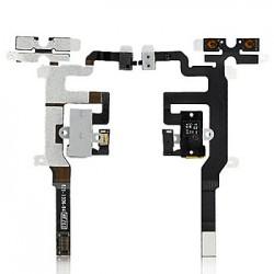 Earphone Jack Flex Cable til iPhone 4S (Hvid)