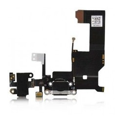Charge Connector with Headphone Jack til iPhone 5  (Hvid)