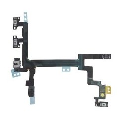 Power Button Volume and Silent Switch Flex Cable til iPhone 5