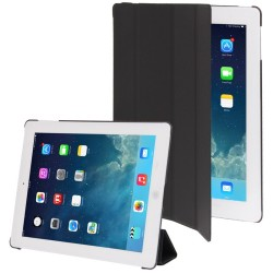 Smart Cover med Plastik Bag Case til iPad 4 / iPad 3 / iPad 2 (Sort)