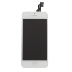 AAA quality Display Screen Assembly til iPhone 5C (Sort)