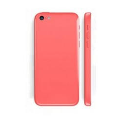 Backcover with small parts til iPhone 5C (Grøn)