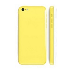 Backcover with small parts til iPhone 5C (Hvid)