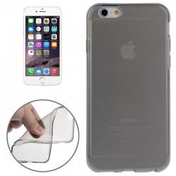 Smooth Surface TPU Cover til iPhone 6 (Gennemsigtig)