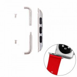 Metal Strap Connector Metal Buckle til Apple Watch 38 mm (Sølv)