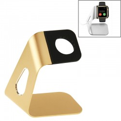 Aluminum Holder Oplader til Apple Watch 38mm / 42mm(Guld)