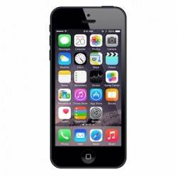 APPLE IPHONE 5 16GB - SORT - INCL. LADER & HEADSET - (BRUGT) GRADE A