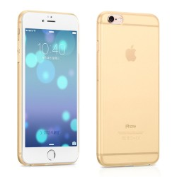 HOCO Defender Series Frosted PC Cover til iPhone 6S Plus / 6 Plus - Guld