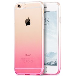 HOCO Black Series Slim Gradient TPU Beskyttelses Cover til iPhone 6S Plus / 6 Plus - Lilla
