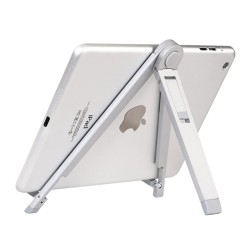 HOCO CPH16 Destop Metal Holder til iPhone 6s Plus / Samsung Galaxy Tab 3 4 7.0 - Sølv