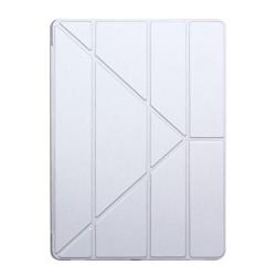 """Origami Stand Læder Cover til iPad Pro 12.9"""" - Sølv"""