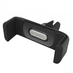 HAWEEL Bil Holder - til ventilation - passer til iPhone Samsung Sony m.m. (med bredde: 5,5 - 9,4cm) - Sort